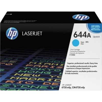 HP 644A Cyan Original LaserJet Toner Cartridge (Q6461A)