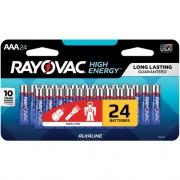 Spectrum Brands Rayovac Alkaline AAA Batteries (82424LTK)