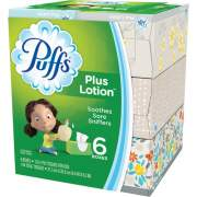 Procter & Gamble Puffs Plus Lotion Facial Tissue (39383CT)