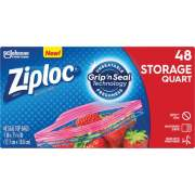 S. C. Johnson & Son Ziploc Quart Storage Seal Top Bags (314469)