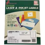 Skilcraft Recycled Laser/Inkjet Address Labels (6736513)