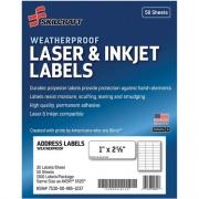 Skilcraft Laser/Inkjet Weatherproof Mailing Labels (6736516)
