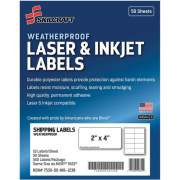 Skilcraft Laser/Inkjet Weatherproof Mailing Labels (6736220)