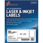 Skilcraft Laser/Inkjet Weatherproof Mailing Labels (6736219)
