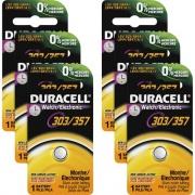 Duracell 03/357 Silver Oxide Button Battery (DL303357BPK)
