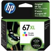 HP 67XL Original Ink Cartridge - Tri-color (3YM58AN)