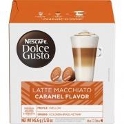 Nestle S.A Nescafe Dolce Gusto Caramel Latte Macchiato Pods (70396)