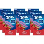 S. C. Johnson & Son Ziploc Quart Storage Seal Top Bags (314469CT)