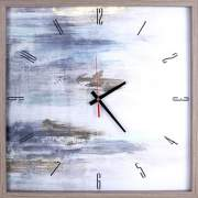 Lorell Abstract Art Clock (01718)