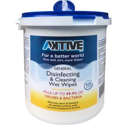Aktive General Disinfecting & Cleaning Wet Wipes (AKWIPE)