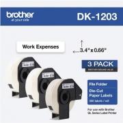 Brother DK File Folder Label (DK12033PK)