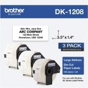 Brother DK Address Label (DK12083PK)