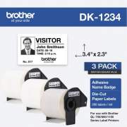 Brother DK Name Badge Label (DK12343PK)
