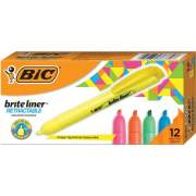 BIC Brite Liner Retractable Highlighters (BLR11AST)
