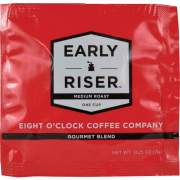 Eight O'Clock Early Riser Medium Roast Regular Coffee Soft Pod Pod (CCFEOC1R)