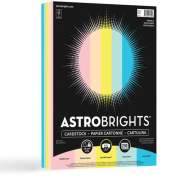 Astro Laser, Inkjet Printable Multipurpose Card Stock - Merry Mint, Lift-off Lemon, Bubble Gum, Punchy Peach, Lunar, Blue (91715)