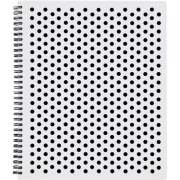 TOPS Polka Dot Design Spiral Notebook (69734)
