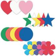 Creativity Street Wonderfoam Large Shapes (4359)