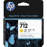 HP 712 Original Ink Cartridge - Yellow (3ED69A)
