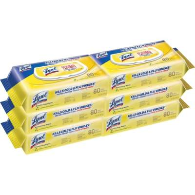 LYSOL Disinfecting Wipes in Flatpacks (99716)