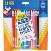 Crayola Project Easy Peel Crayon Pencils Set (684604)