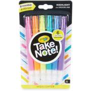 Crayola Take Note Erasable Highlighters (586504)