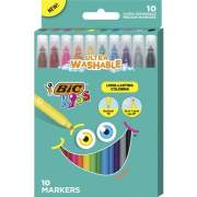 BIC Medium Point Coloring Markers (BKCM10AST)