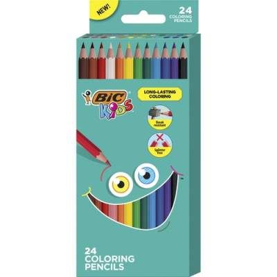 BIC Kids Coloring Pencils (BKCP24AST)