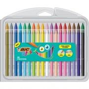 BIC Kids Triangular Crayons (BKPCTP10AST)