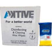 Aktive Disinfecting/Cleaning Wipes (AKWIPEX50)