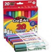 Cra-Z-Art Washable Broadline Markers (44402WM20)