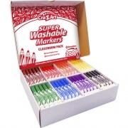 Cra-Z-Art Super Washable Broadline Markers Pack (740081)