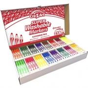 Cra-Z-Art Super Washable Broadline Markers Pack (740091)