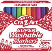 Cra-Z-Art Super Washable Broadline Markers Pack (740106)