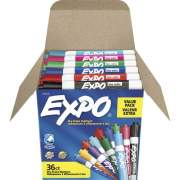 EXPO Low-Odor Dry Erase Chisel Tip Markers (2135174)