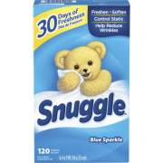 Dial Snuggle Blue Sparkle Dryer Sheets (45115)