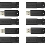 Verbatim PinStripe 32GB USB 3.0 Flash Drive (70902)