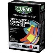 Curad Finger/Knuckle Antibacterial Bandage (CURIM5021)