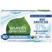 Seventh Generation Free & Clear Fabric Softener Sheets (22787)