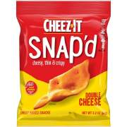 Cheez-It Snap'd Double Cheese Crackers (11422)