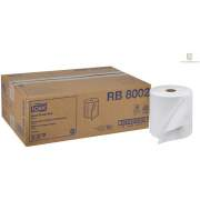 Tork Hand Towel Roll, White, Universal, H21, Large, Disposable, 100% Recycled, 1-Ply, 6 Rolls x 800 ft - RB8002