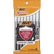 BIC PrevaGuard Round Stic Ballpoint Pen (GSAMP81BK)