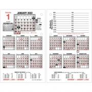 AT-A-GLANCE Daily Loose-Leaf Desk Calendar Refill (E7125022)