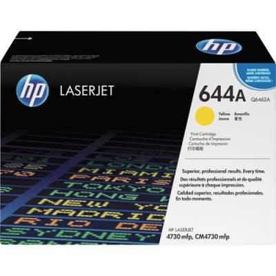 HP 644A Yellow Original LaserJet Toner Cartridge (Q6462A)