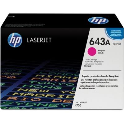 HP 643A Magenta Original LaserJet Toner Cartridge (Q5953A)