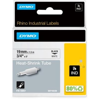 Newell Rubbermaid Dymo Rhino Heat Shrink Tube Labels (18057)
