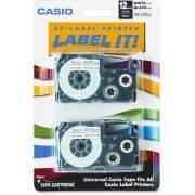 Casio EZ-Label Printer Tape Cartridges (XR12WE2S)