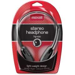 Maxell HP-100 Lightweight Stereo Headphone (190319)