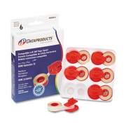 Dataproducts R5181-6 Compatible Low-Tack Lift-Off Tape, Clear
