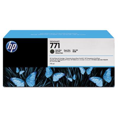HP 771A 3-pack 775-ml Matte Black DesignJet Ink Cartridges (B6Y39A)